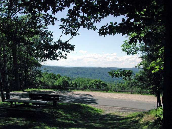 This photo was taken using an old Epson PhotoPC 3000Z camera while I was hiking the Mohawk Trail in Cornwall, Connecticut.  I was not able to enhance it with Perfect Photo Suite 8 but I wanted to upload it anyway because I love this scene.