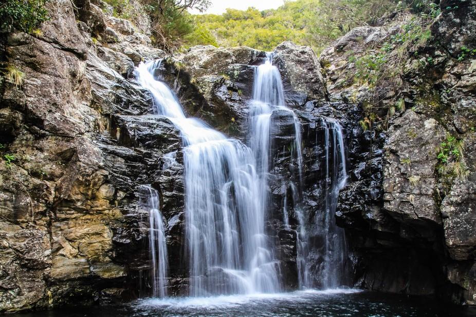 Hidden madeira waterfall