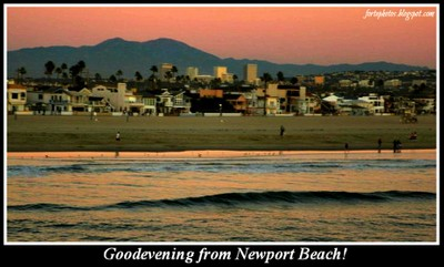 Good evening from Newport Beach!