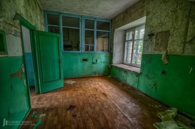 Abandoned Bus Station, Ukraine