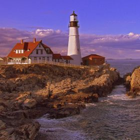 Portland Head Lighthouse in South Portland, Maine