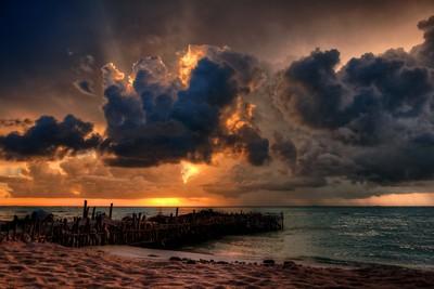 Last rays of light, Isla...