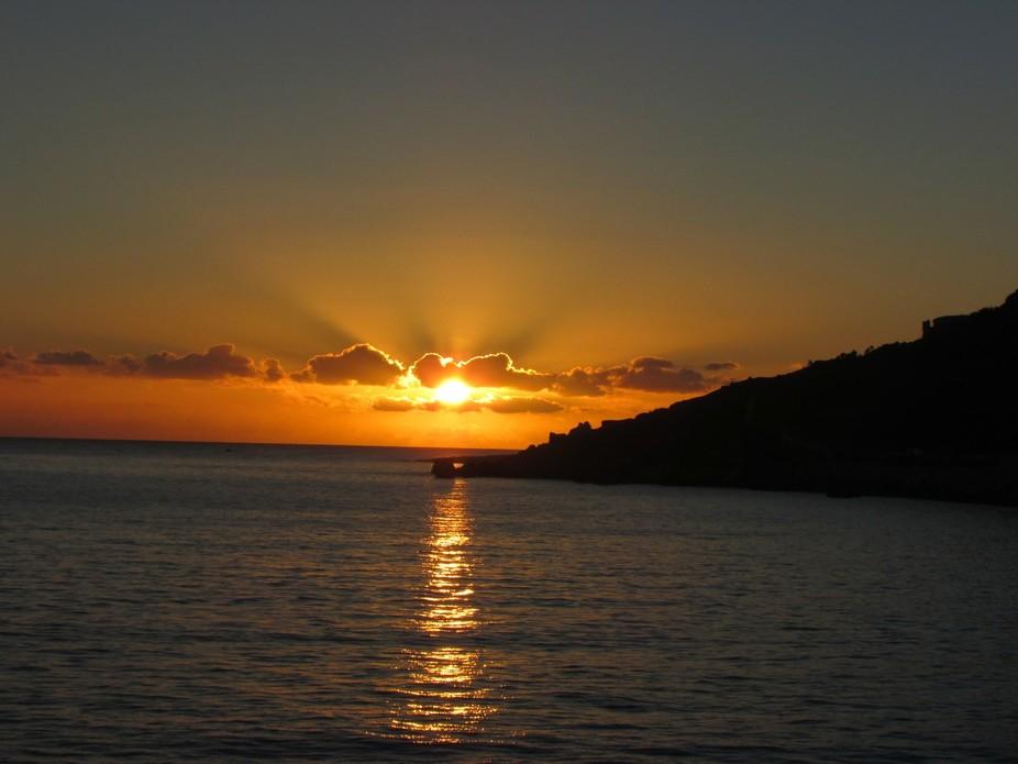 Sunset over Malta