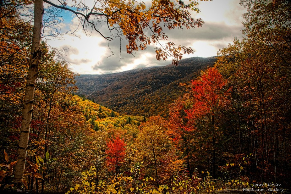 At the base of Kaaterskill Falls in the Catskill mountains of New York State and from the parking...