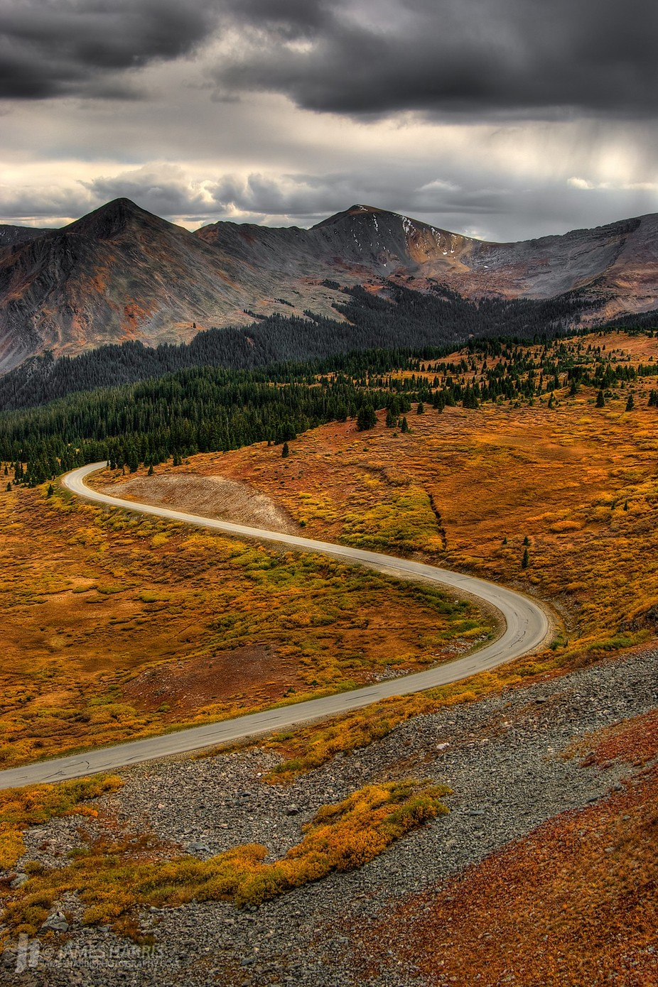 Cottonwood Pass Road, Colorado by jamesharrisphoto - A Road Trip Photo Contest