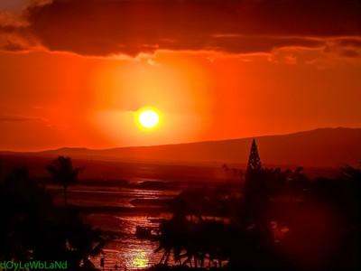 Honolulu Sun Set