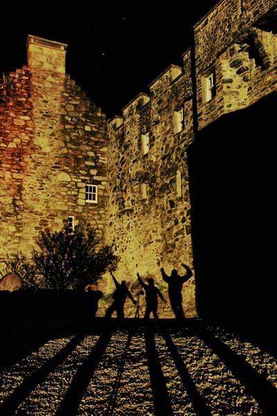Eilean Donan Shadows