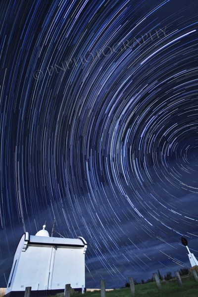 Star Trail -Crowdy Head Lighthouse