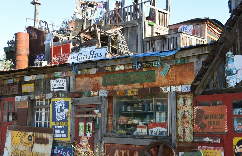 The Sluice Box~ an old second hand store in Idaho City, where I live, long since closed.