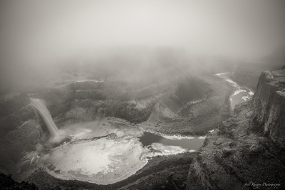 Winter at Palouse Falls