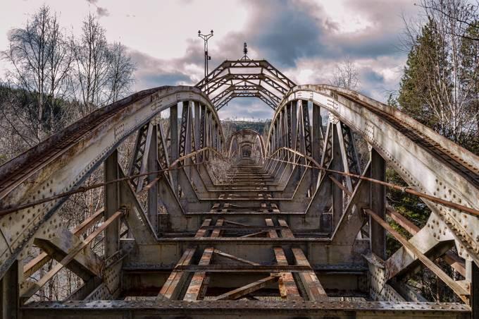 bridge-to-no where by geertweggen - Metallic Matter Photo Contest