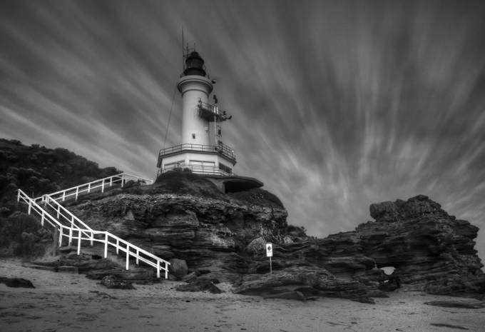 Lighthouse by daniellepowell - Epic Black and White Photo Contest