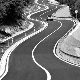 is a winding road