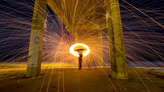 ...and sparks flew... by christopherpayne