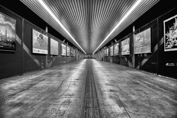 To the Train by rhmimages - Metro Stations Photo Contest