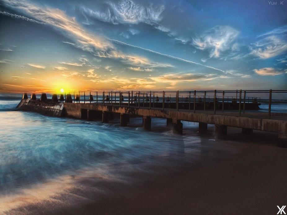 Shot at Ansteys Beach - Durban - South Africa