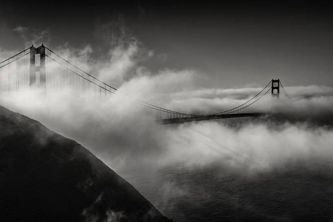 Golden Gate Bridge by EduardMoldoveanu