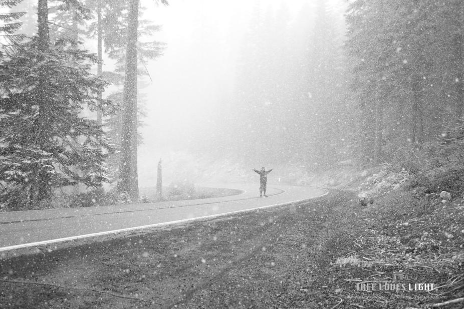 Snow at Mt. shasta