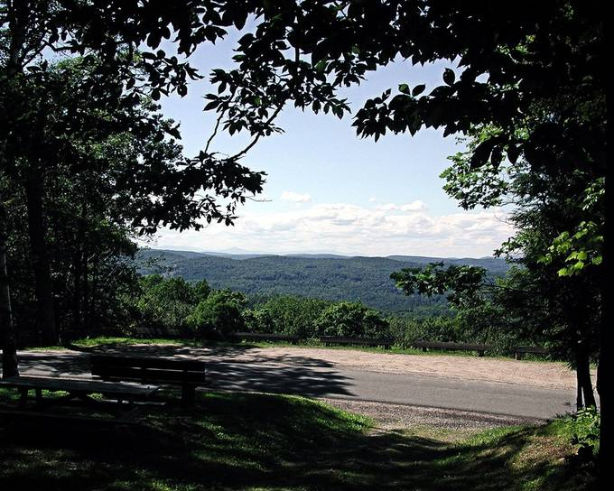 This photo was taken using an old Epson PhotoPC 3000Z camera while I was hiking the Mohawk Trail in Cornwall, Connecticut. The Mohawk Trail was originally part of the Appalachian Trail.  Enhanced with OnOne Perfect Photo Suite 8.5.