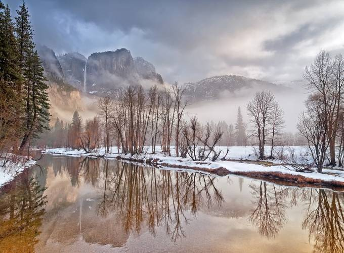 winter morning in yosemite by lucmena - National Parks Photo Contest