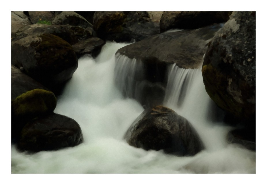 McCormick Creek rapids in the Carson Iceberg Wilderness. Camera was my Canon EOS 70D. Post proces...