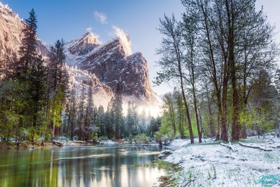Three Brothers in Yosemite National Park