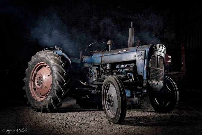 Fordson tractor by Masher - Fill Flash Photo Contest