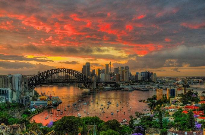 Oh What a Beautiful Morning - Sydney Harbour by philipjohnson - I Love My City Photo Contest