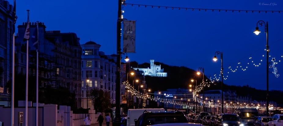 Douglas Promenade by Night.