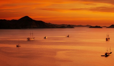 Sunset at Labuan Bajo