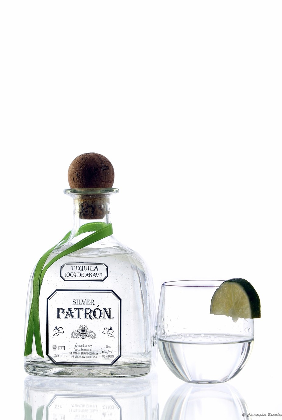 Patron Silver tequila by christopherbrearley - Commercial Shots Photo Contest 2018