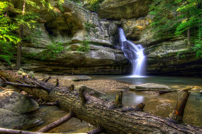 Cedar Falls 1 by ccotton - HDR Photography Contest