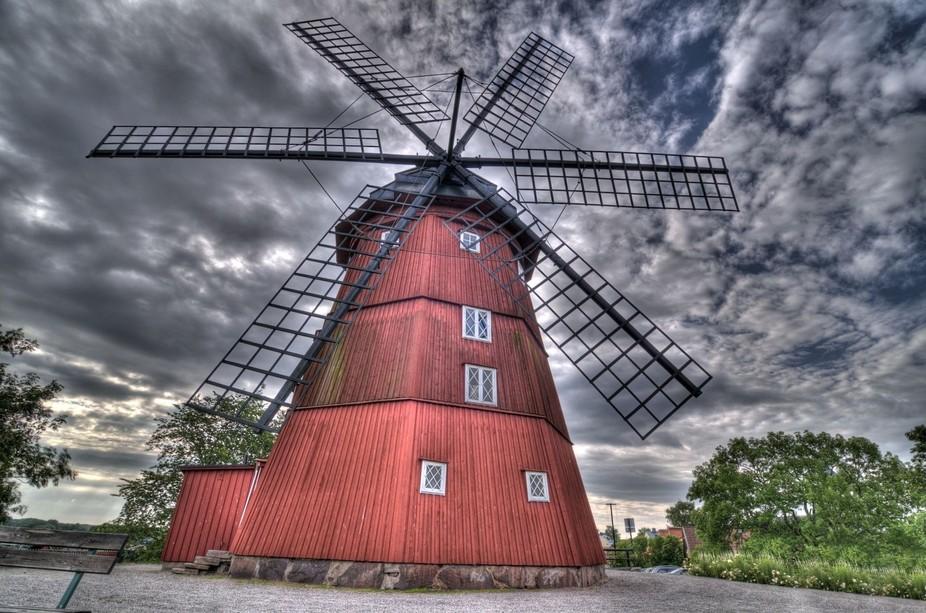 Windmill in Strängnäs, Sweden