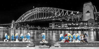Smurfs in Sydney