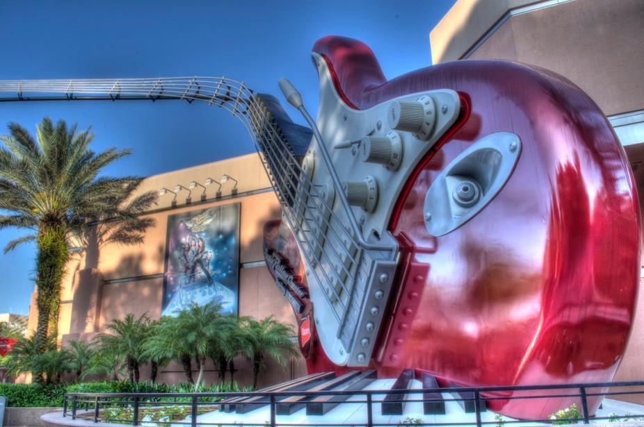 Disney Hollywood Studios Aerosmith Rockin Roller Coaster