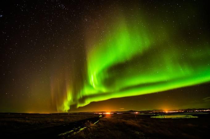 Aurora in Iceland II by trevorcurtis - Night Wonders Photo Contest