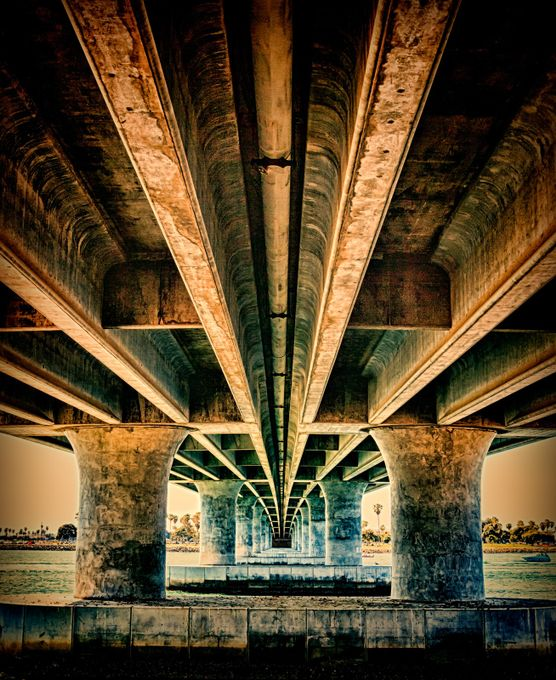 Under a bridge by jimshelton - Under The Bridge Photo Contest