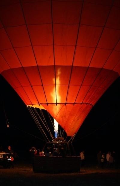 Balloon Ready for Take off
