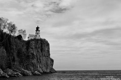 B&W Split Rock Lighthouse