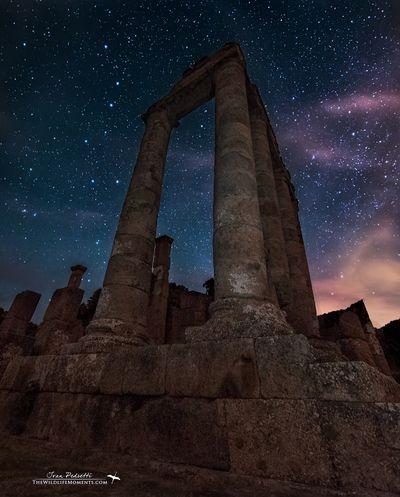 Temple of Antas and Ursa Major.