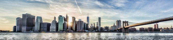 NYC Skyline at Sunset by ZevSteinhardt - Sunset In The City Photo Contest