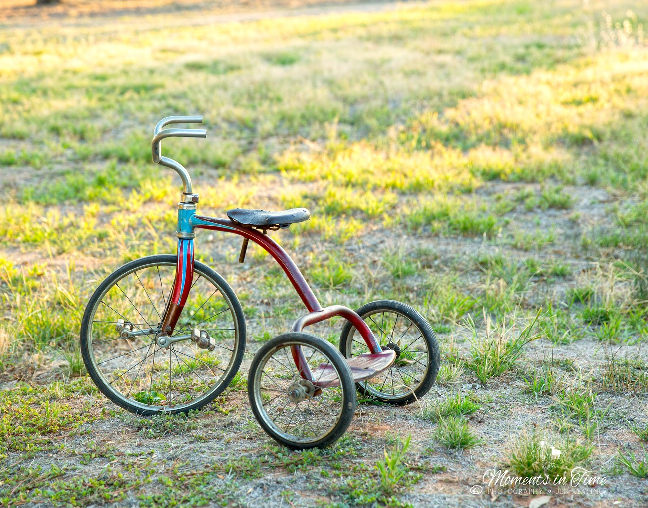 """009A349312 Lovely Little Old Tricycle"""""""