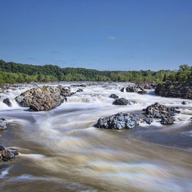 Great Falls - still rushing