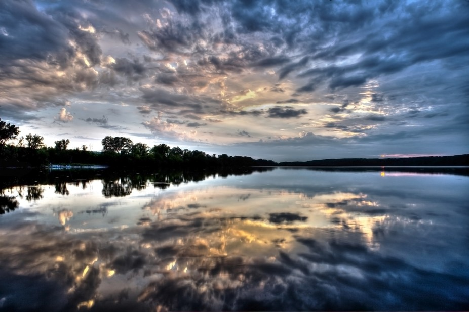 sunset mirror hdr