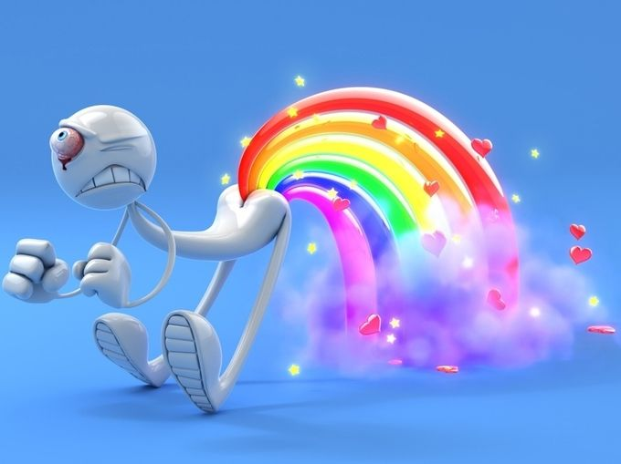 3d Slike Pozadine Za Desktop 0054 Gay Robot By