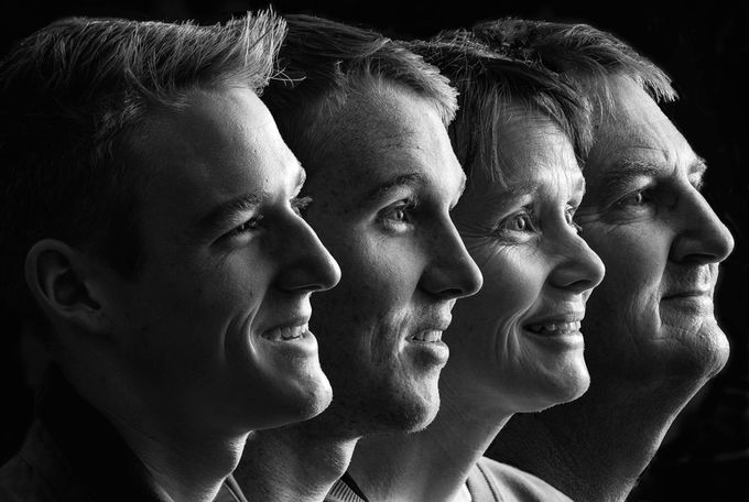 4 Friends by fotoshotz - Awesomeness In Black And White Photo Contest