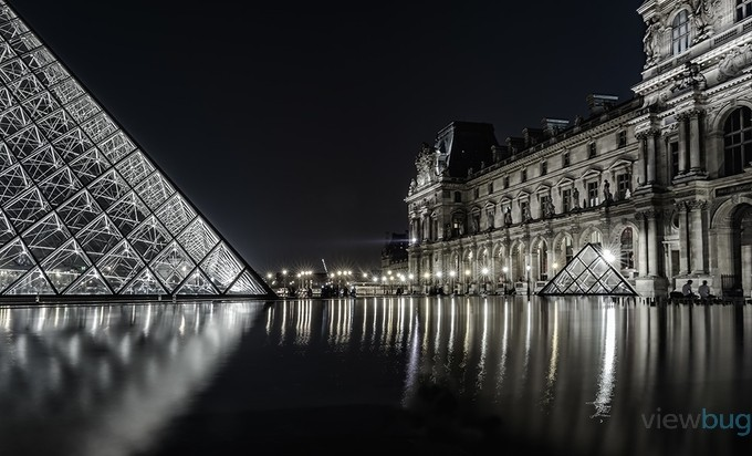 Louvre by Ivan_Bertusi - City Of Love Photo Contest