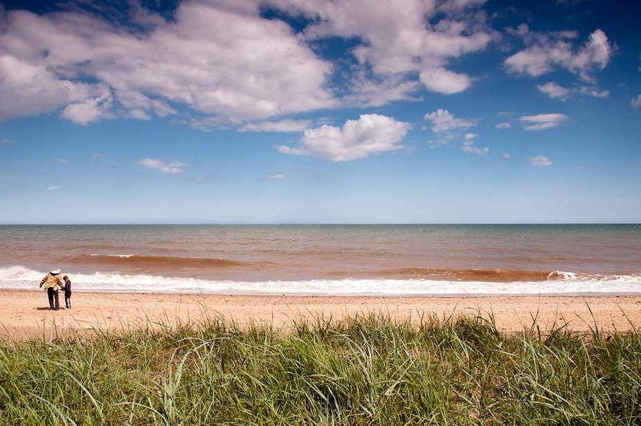 Barmston Beach, East Yorkshire, England.