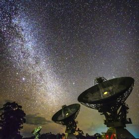 CSIRO Australia  Telescope Paul Wilde Observatory The compact array is the largest radio telescope in the Southern hemisphere. All up there are f...