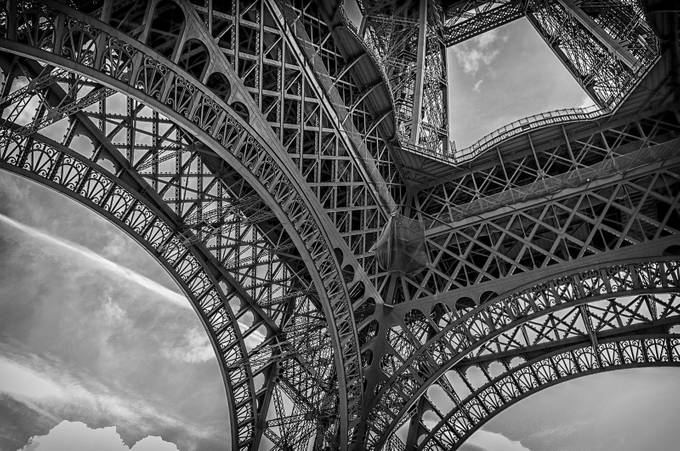 La tour Eiffel Detail by patrickbaum - Paris Photo Contest